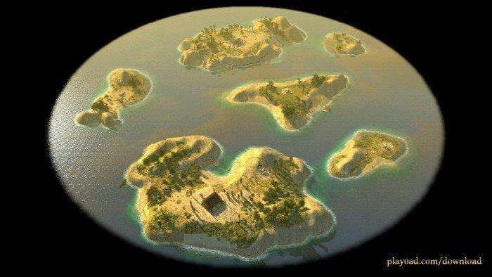 0 A.D. Alpha 14 - wyspy
