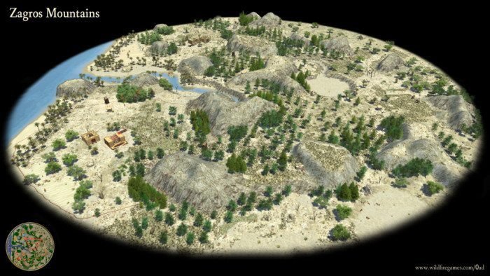 0 A.D. Alpha 8 Zagros Mountains