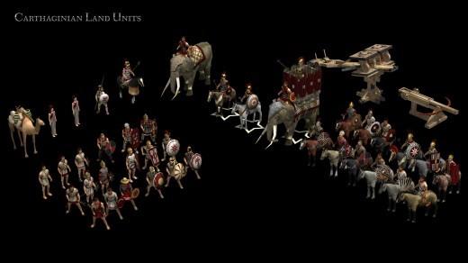 0 A.D. - Jednostki Kartaginy