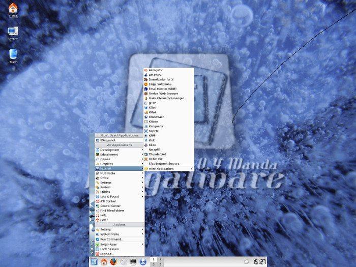 Frugalware - KDE