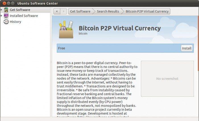 Bitcoin P2P Virtual Currency