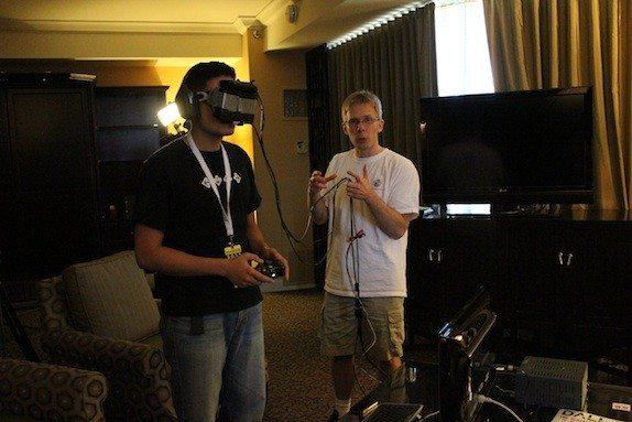 John D. Carmack - rewolucja - prezentacja okularów wirtualnej rzeczywistości