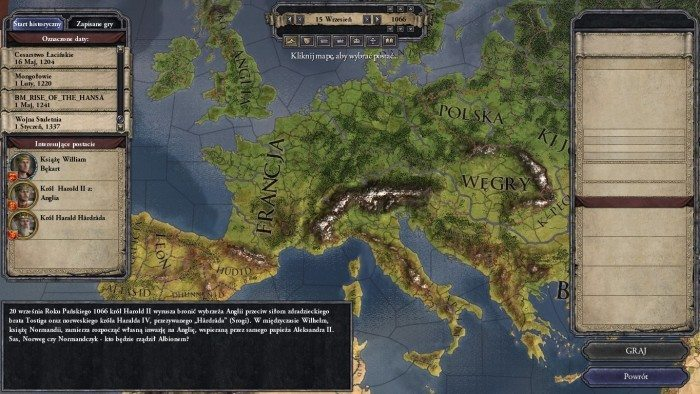 Crusader Kings II - mapa Europy