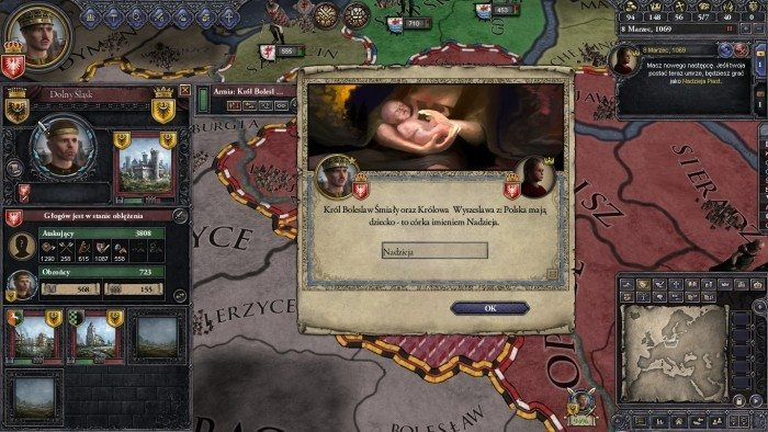 Crusader Kings II - następca tronu