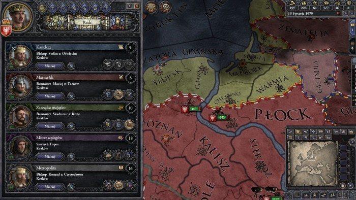 Crusader Kings II - rada królestwa