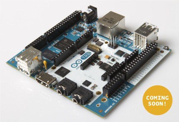 Arduino Tre - planowany wygląd