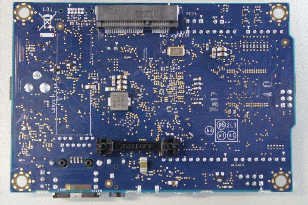 Intel Galileo - tył