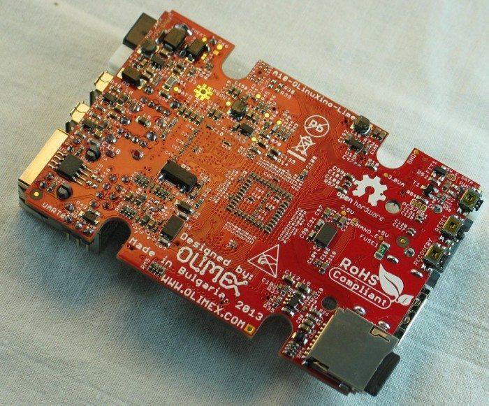 A10-OLinuXino-LIME - spód