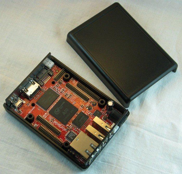 A10-OLinuXino-LIME - w pudełku