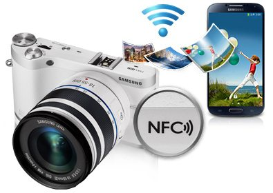 Samsung NX300M - wygląd
