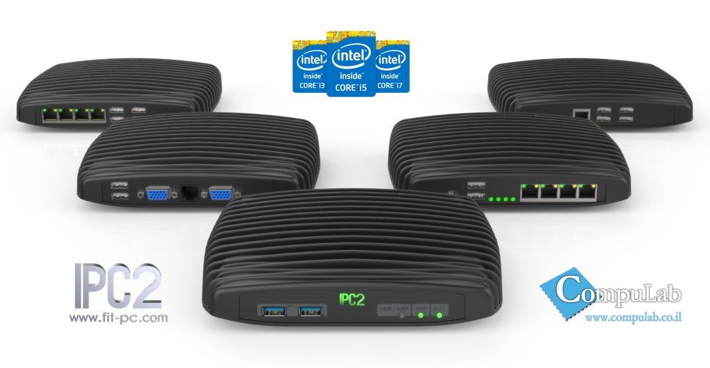 CompuLab Intense PC2 - różne warianty