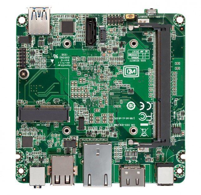 Intel NUC Kit DN2820FYKH - płyta główna góra