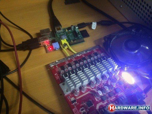 Raspberry Pi zostało podkręcone do 1.5 GHz - EVGA EPower i Rasbperry Pi