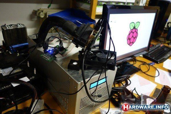 Raspberry Pi zostało podkręcone do 1.5 GHz - cały zestaw