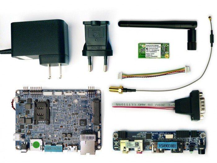 VIA VAB-600 Springboard WiFi Kit - zestaw