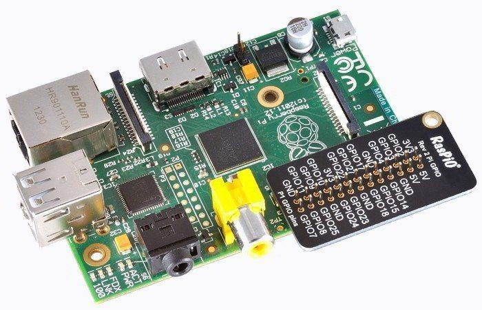 RasPiO Port Label - na Raspberry Pi