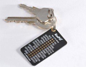 RasPiO Port Label - uchwyt do kluczy