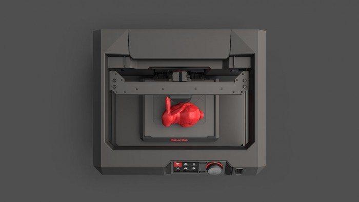 Replicator Desktop - widok z góry