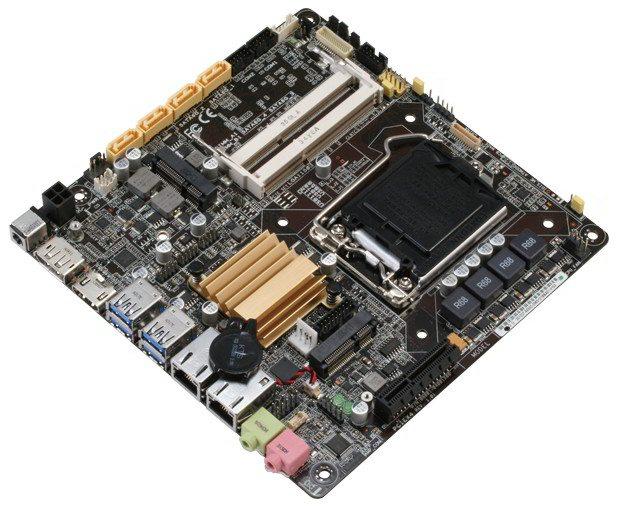 Aaeon EMB-Q87A - wygląd