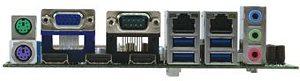 Aaeon EMB-QM87A - porty