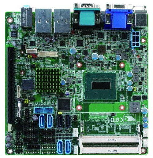 Aaeon EMB-QM87A - wygląd