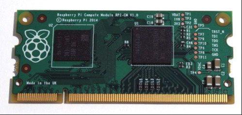 Raspberry Pi Compute Module - wygląd