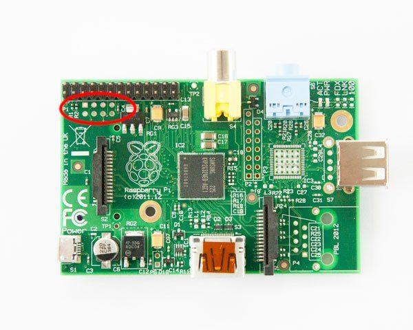 Raspberry Pi - Piny P5 dla HiFiBerry Digi