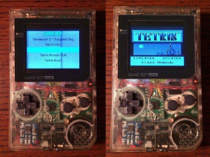 Pi-Pocket - gra Tetris