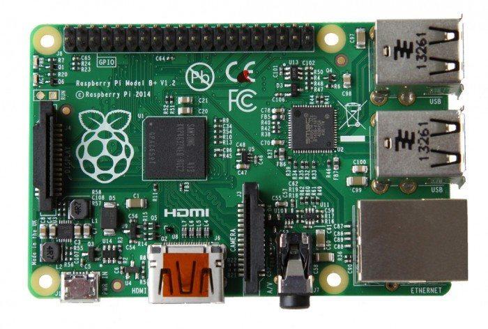 Raspberry Pi Model B+ - wygląd