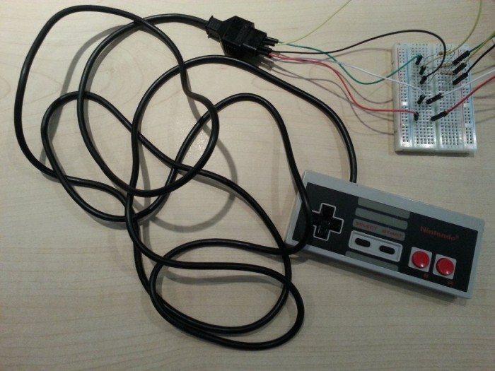 Tetris-Duel - podłączenie kontrolera NES