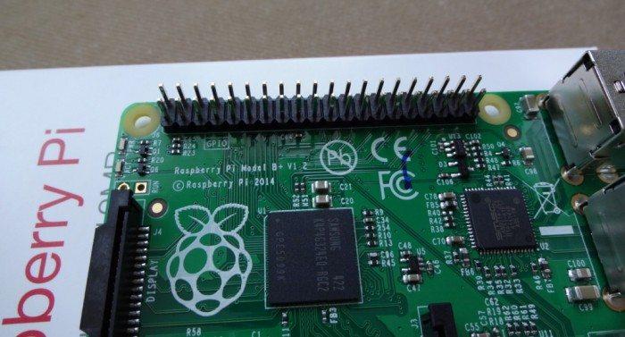 Raspberry Pi Model B+ - piny GPIO