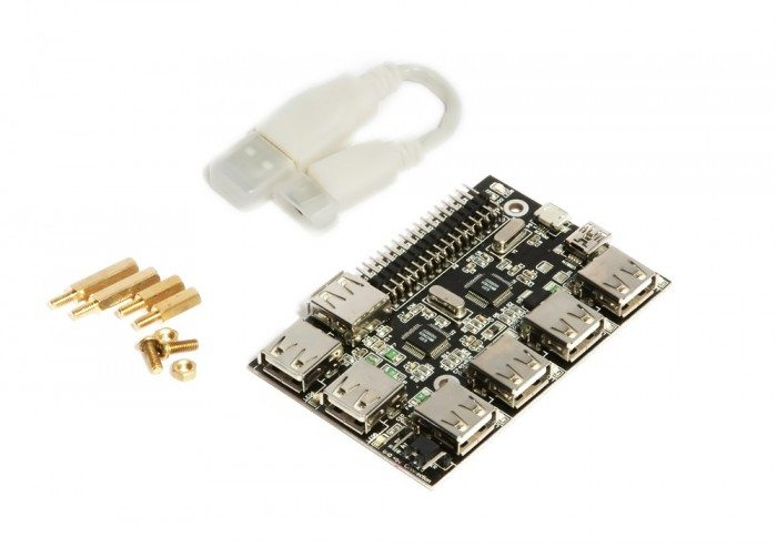 UUGear 7-Port USB Hub -zestaw