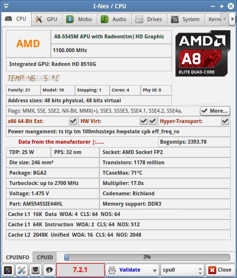 ZOTAC ZBOX nano AQ02 - karta CPU