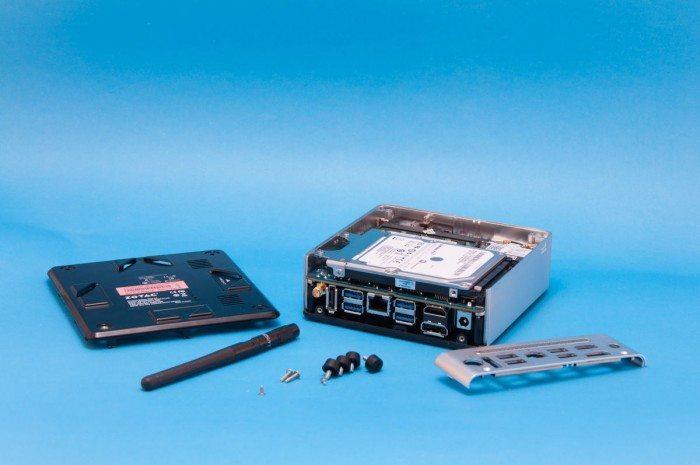 ZOTAC ZBOX nano AQ02 - wnętrze