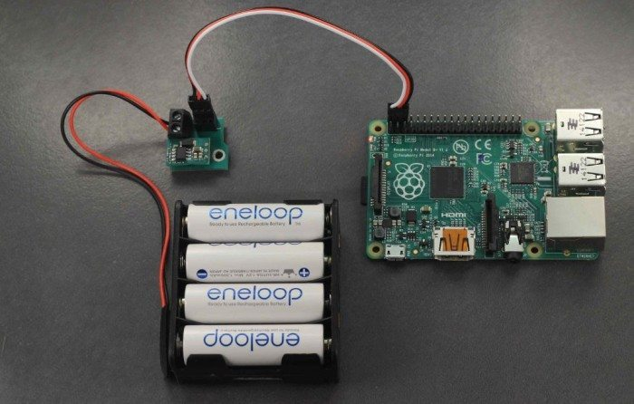 BattBorg - podłączenie akumulatorów i Raspberry Pi