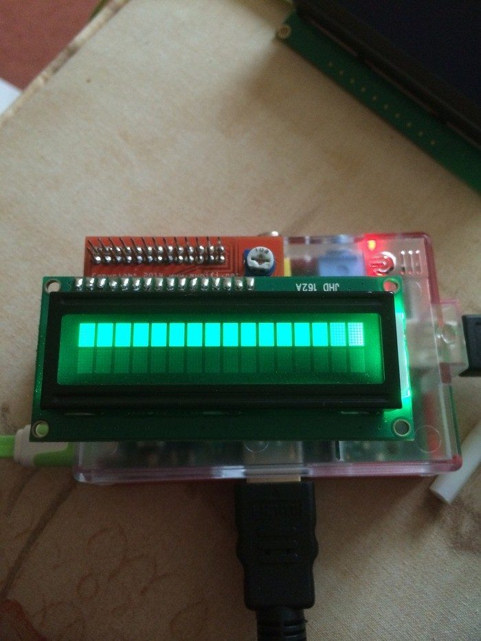 MyPiFi - ekran LCD