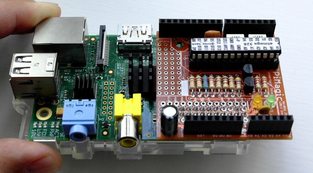 PiMagic na Raspberry Pi Model B