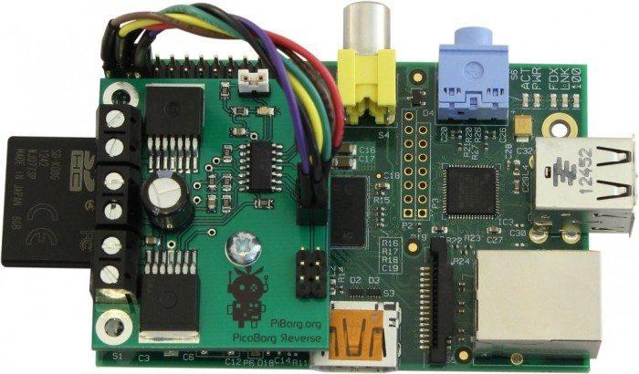PicoBorg Reverse na Raspberry Pi