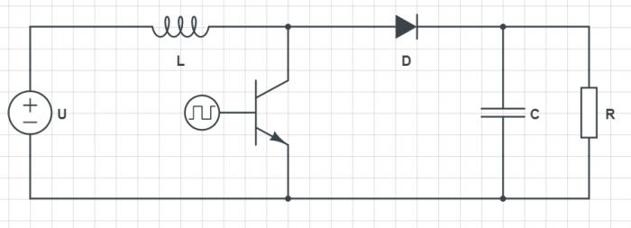 ElektroPrzewodnik numer 48 - schemat przetwornicy