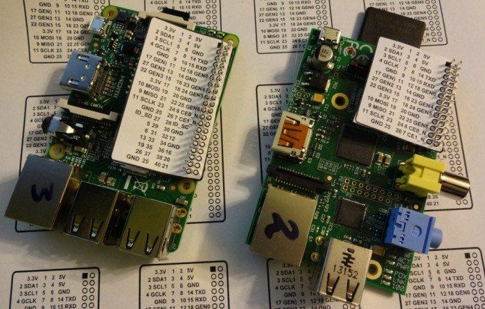Identyfikator pinów GPIO dla Raspberry Pi B i Raspberry Pi B+