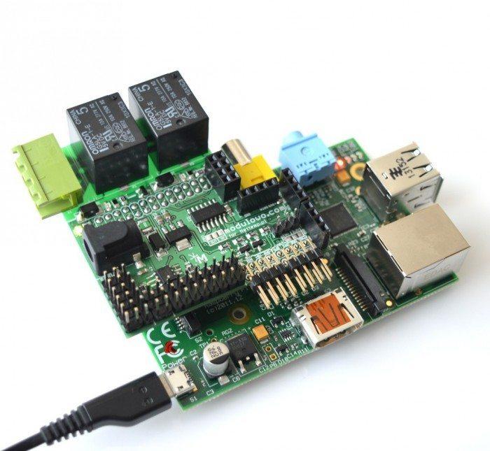 Nakładka Nettemp na Raspberry Pi