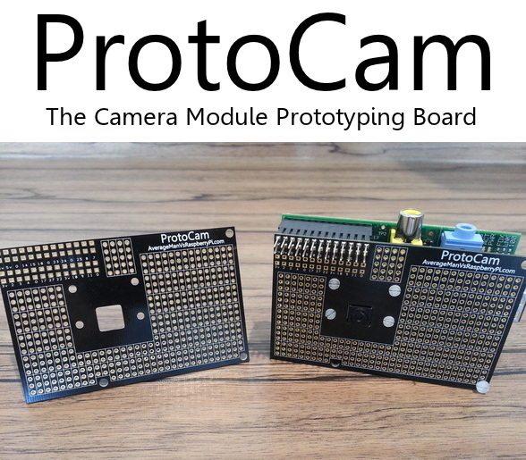 ProtoCam - montaż na Raspberry Pi