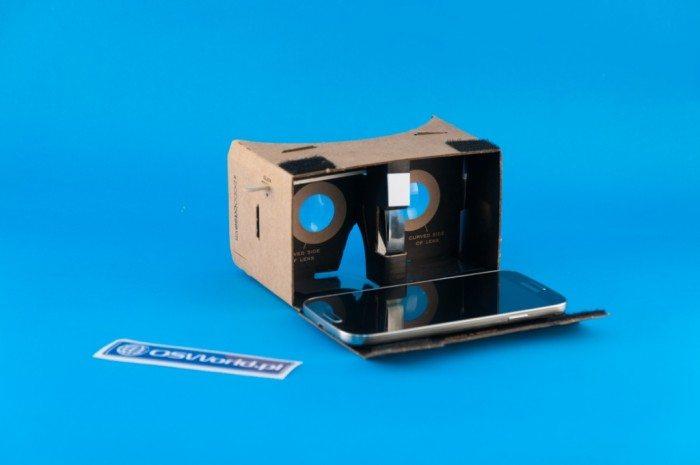 DodoCase VR - smartfon dopasowany do klapki