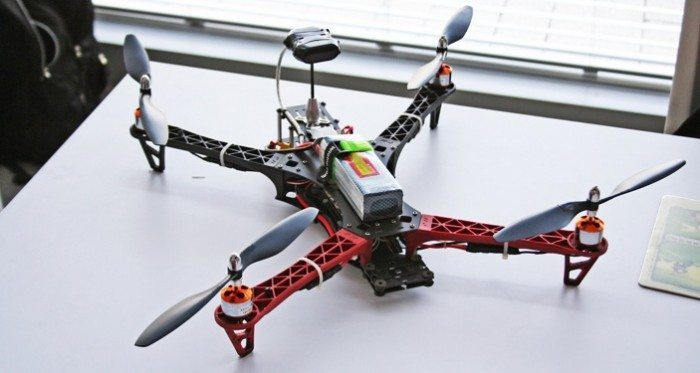 FRE3MAKE 2014 - Quadcopter