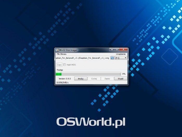 LeMedia - Win32 Disk Imager - nagrywanie obrazu