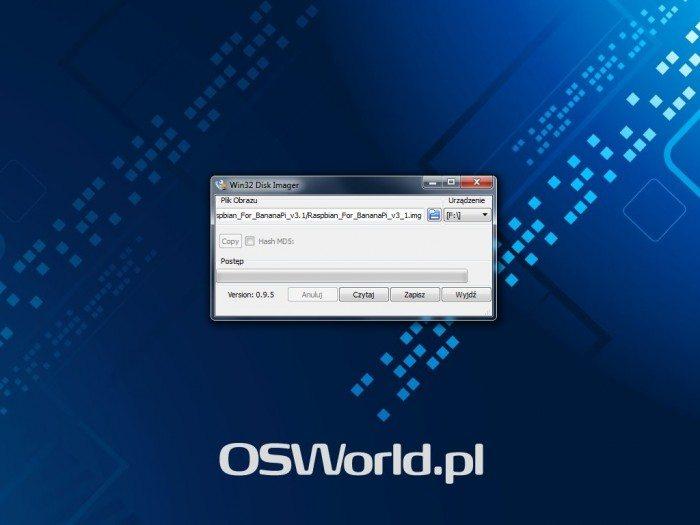 LeMedia - Win32 Disk Imager - wybieranie pliku