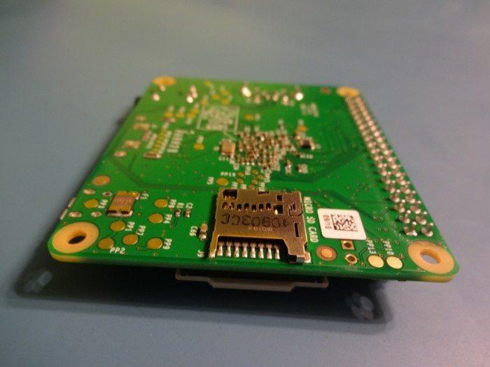 Raspberry Pi Model A+ - microsd