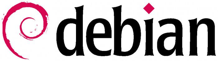 Debian - logo poziome