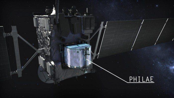 Sonda Rosetta i lądownik Philae