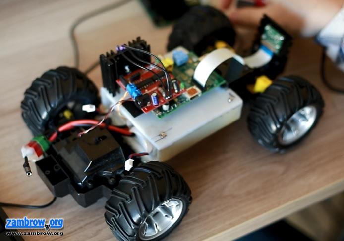 Śmigacz - elementy elektroniki